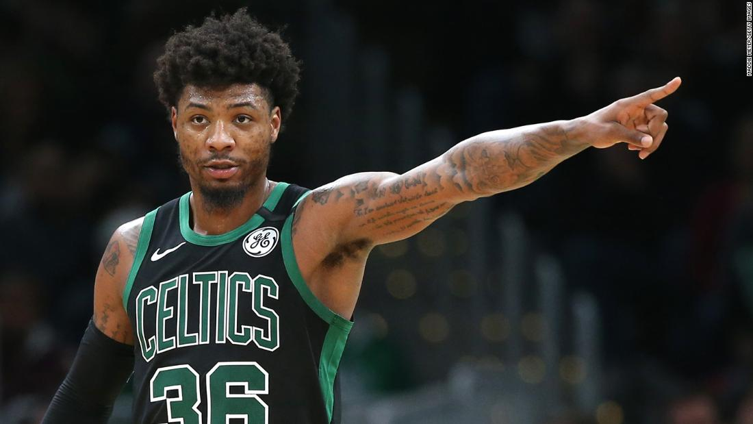 Marcus Smart di Boston Celtics e due giocatori di Lakers positivi per il coronavirus