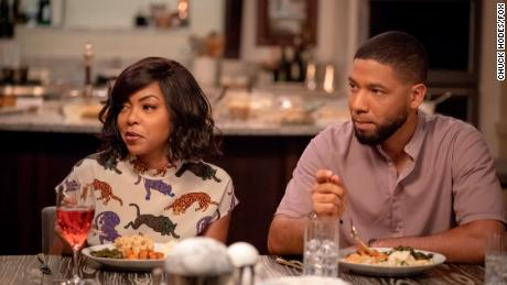 Taraji P. Henson e Jussie Smollett in un episodio dell'Impero del 2018. & # 39;