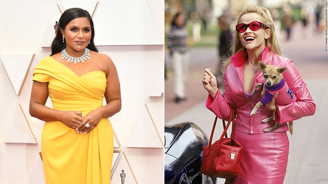 """Reese Witherspoon afferma che Mindy Kaling ha scritto """"Legally Blonde 3"""" avrebbe dovuto """"essere"""""""