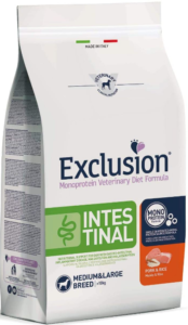 Exclusion Intestinal Medium/Large con Maiale E Riso per Cani, 12 kg